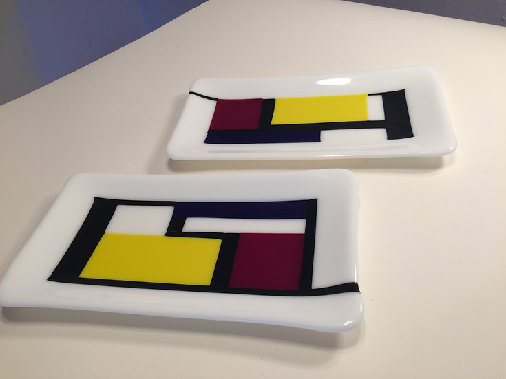 Mondrian small dish by Elen