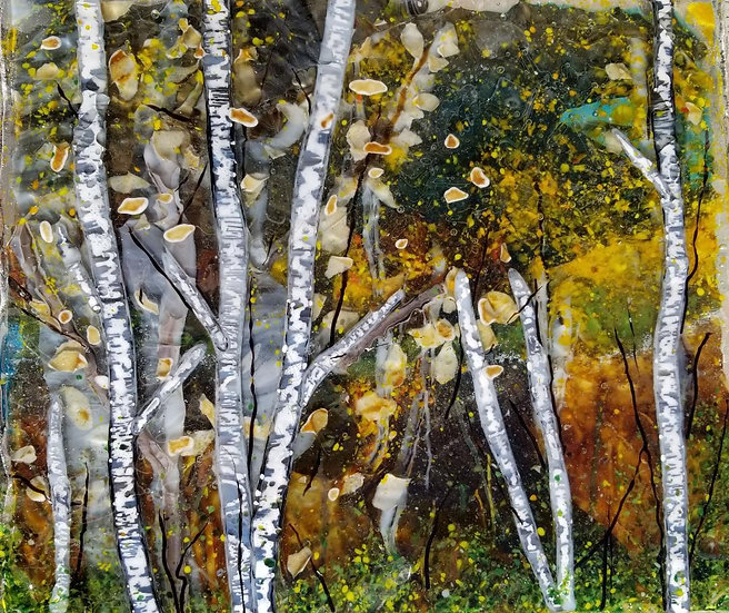 Autumn forest by Malu