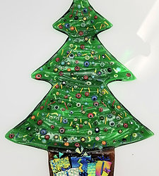 Christmas tree tray by Malu