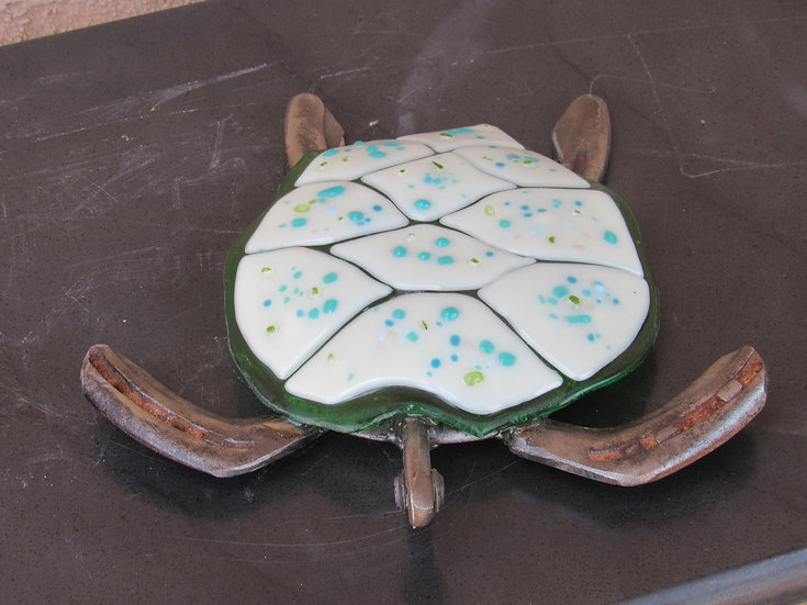 Horseshoe  White Spotted Turtle by Malu