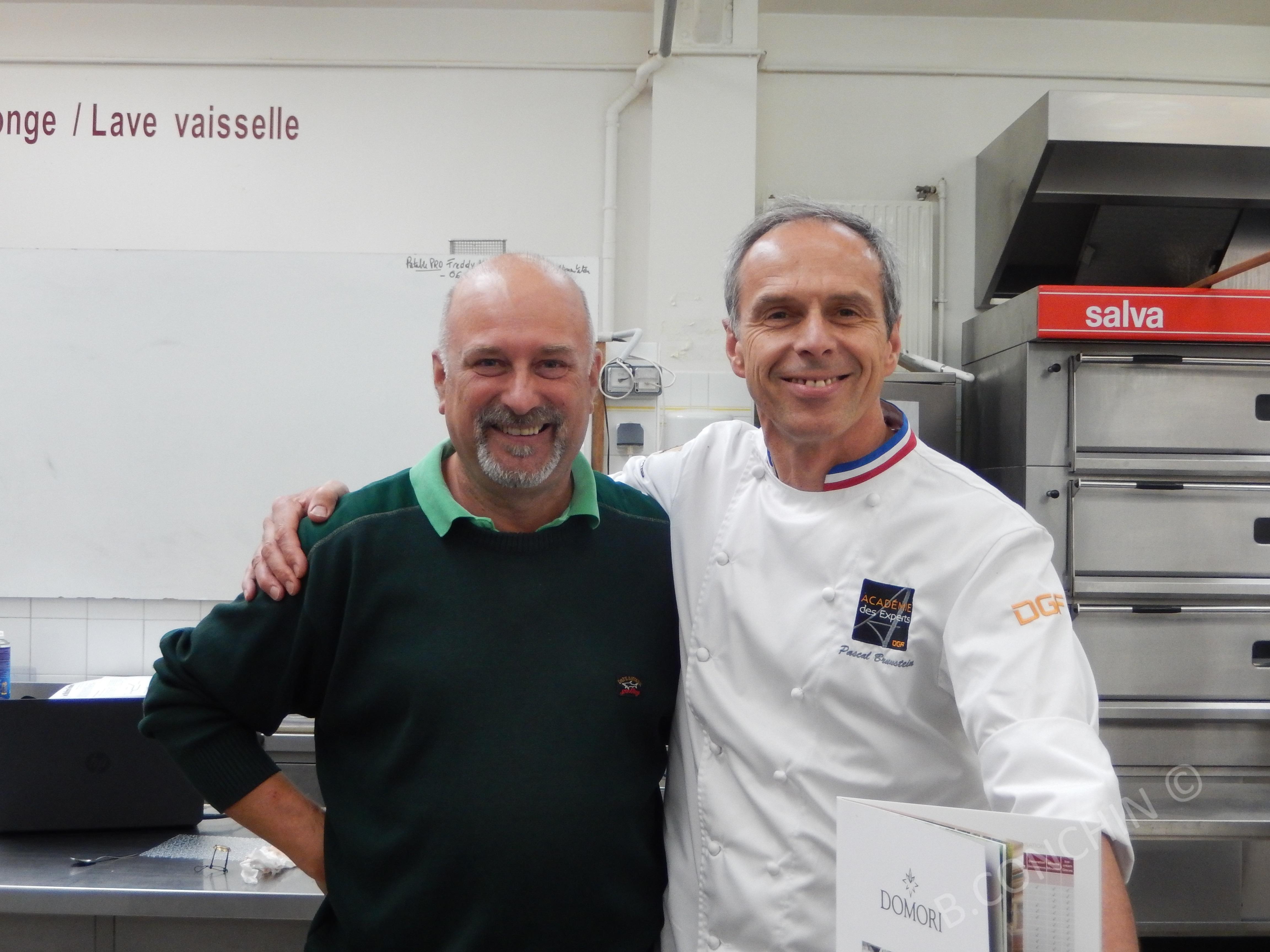 Bruno et Pascal Brunstein MOF