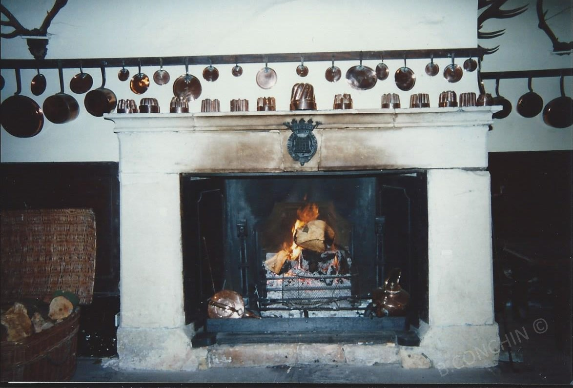 Flambée au château
