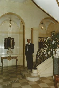 Hall , maison Rothschilds
