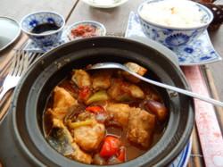 Cassolette de poisson aux épices