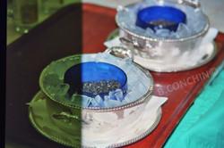 Caviar en quantité