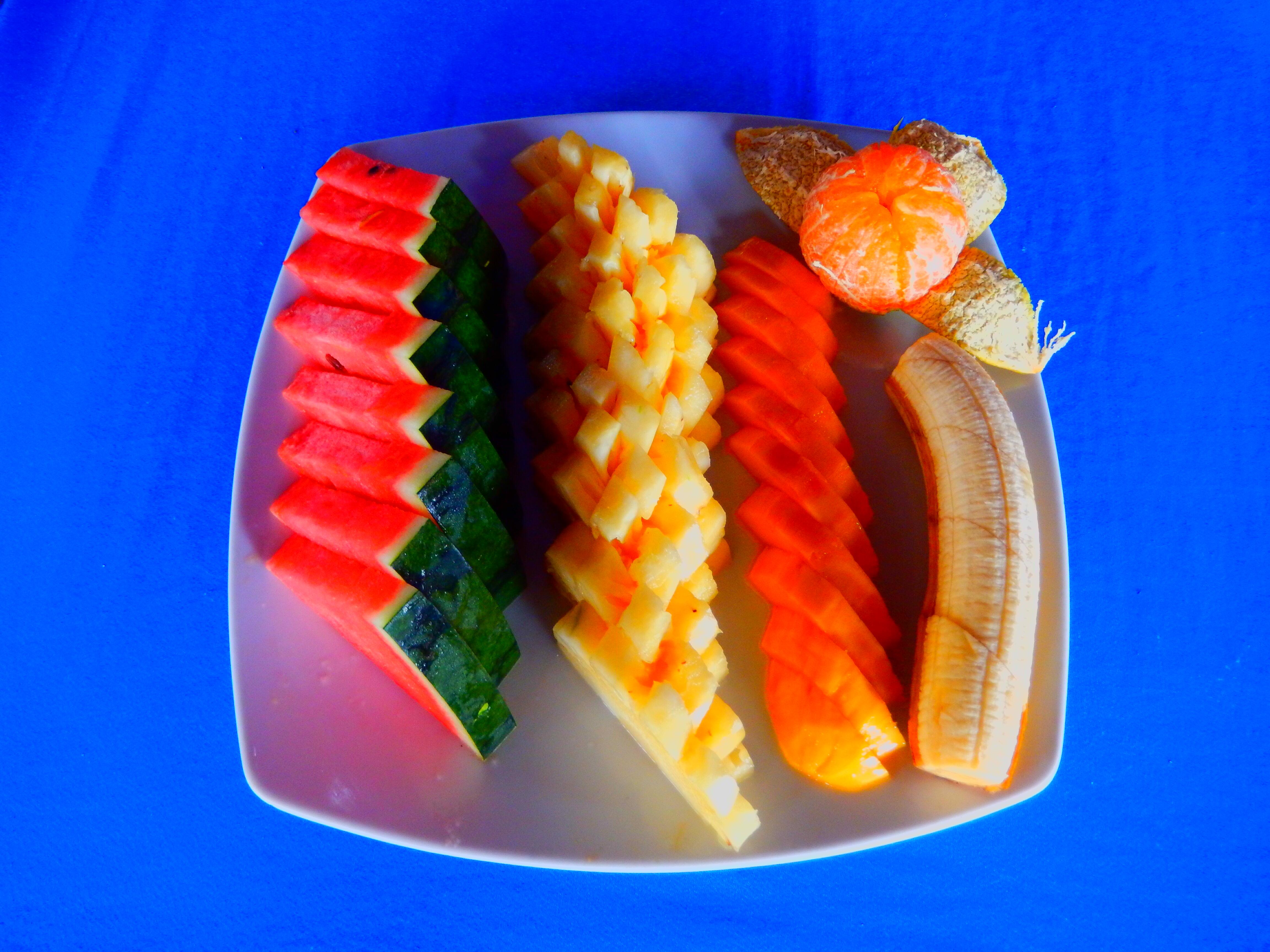 Assiette de fruits locaux, Phuket