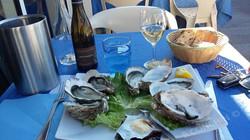 dégustation d'huîtres locales