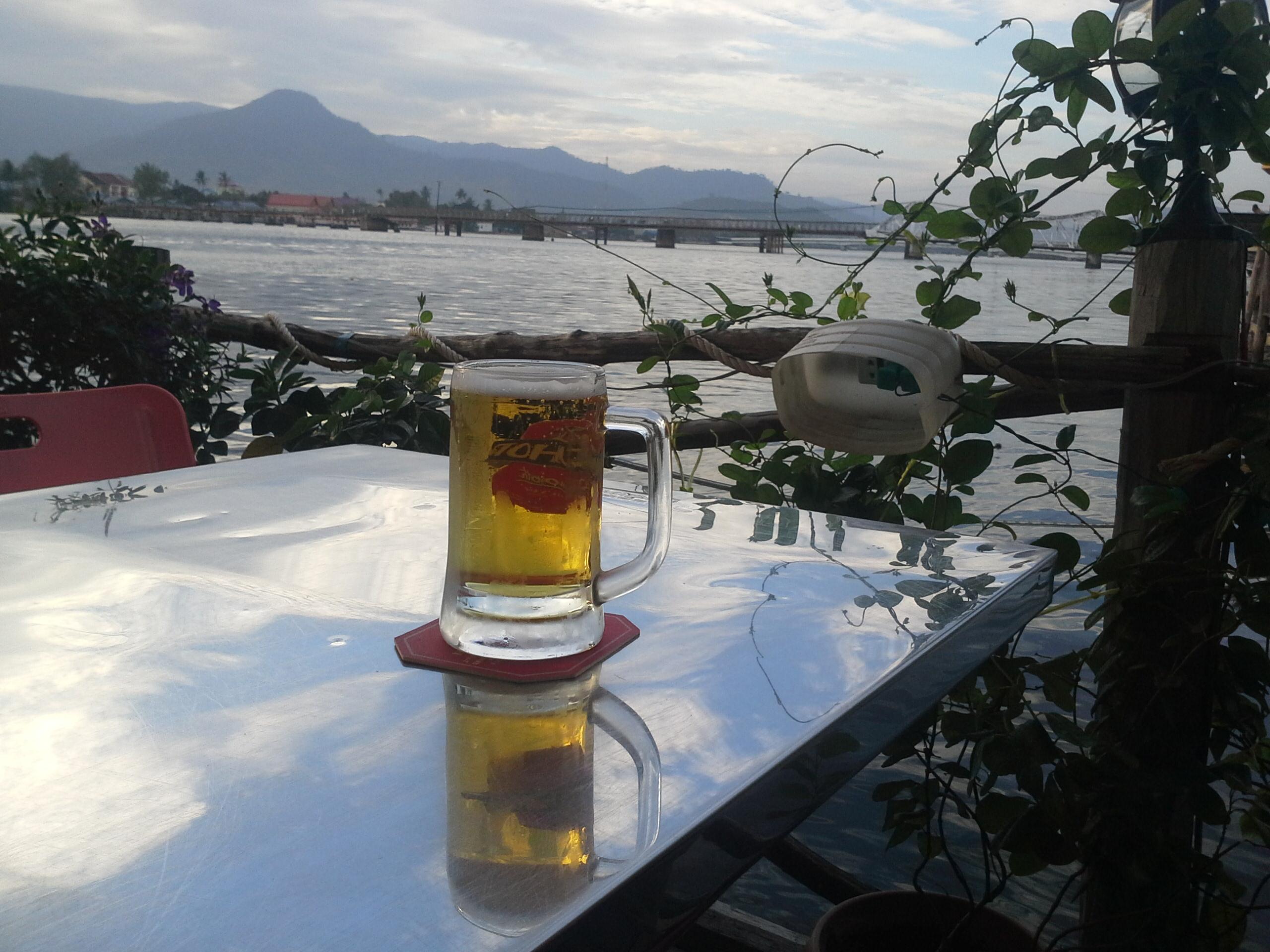 Fin d'après midi à Kampot