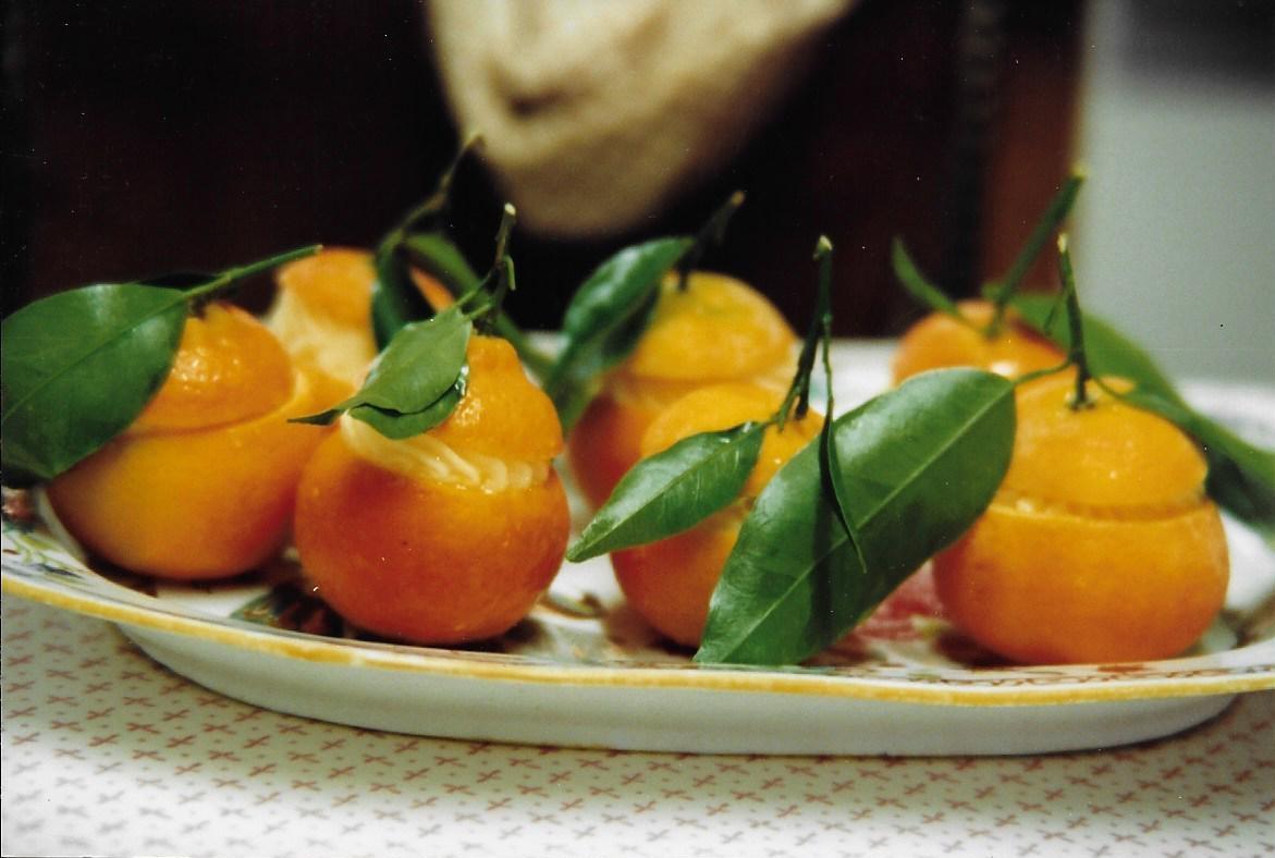 Sorbets mandarines de corse