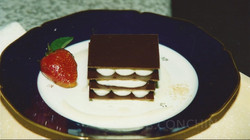 millefeuille chocolat menthe