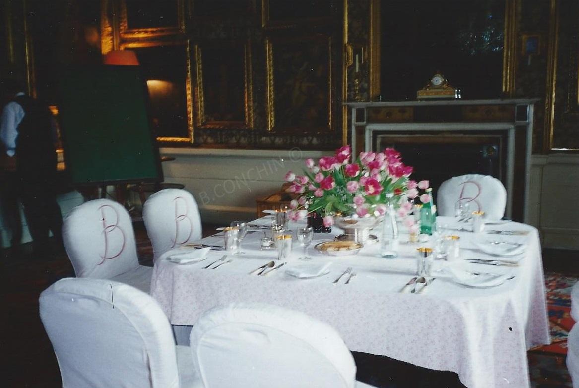 Petit dîner au château