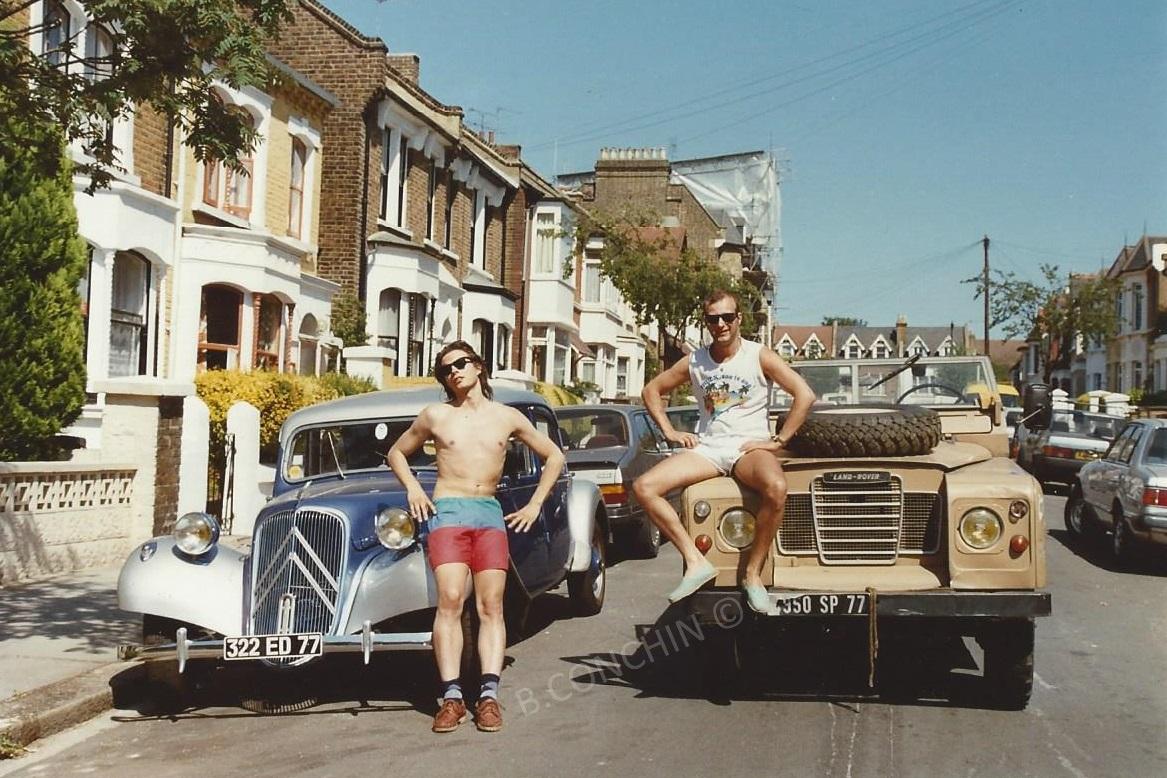 Bruno et Nicolas à Londres