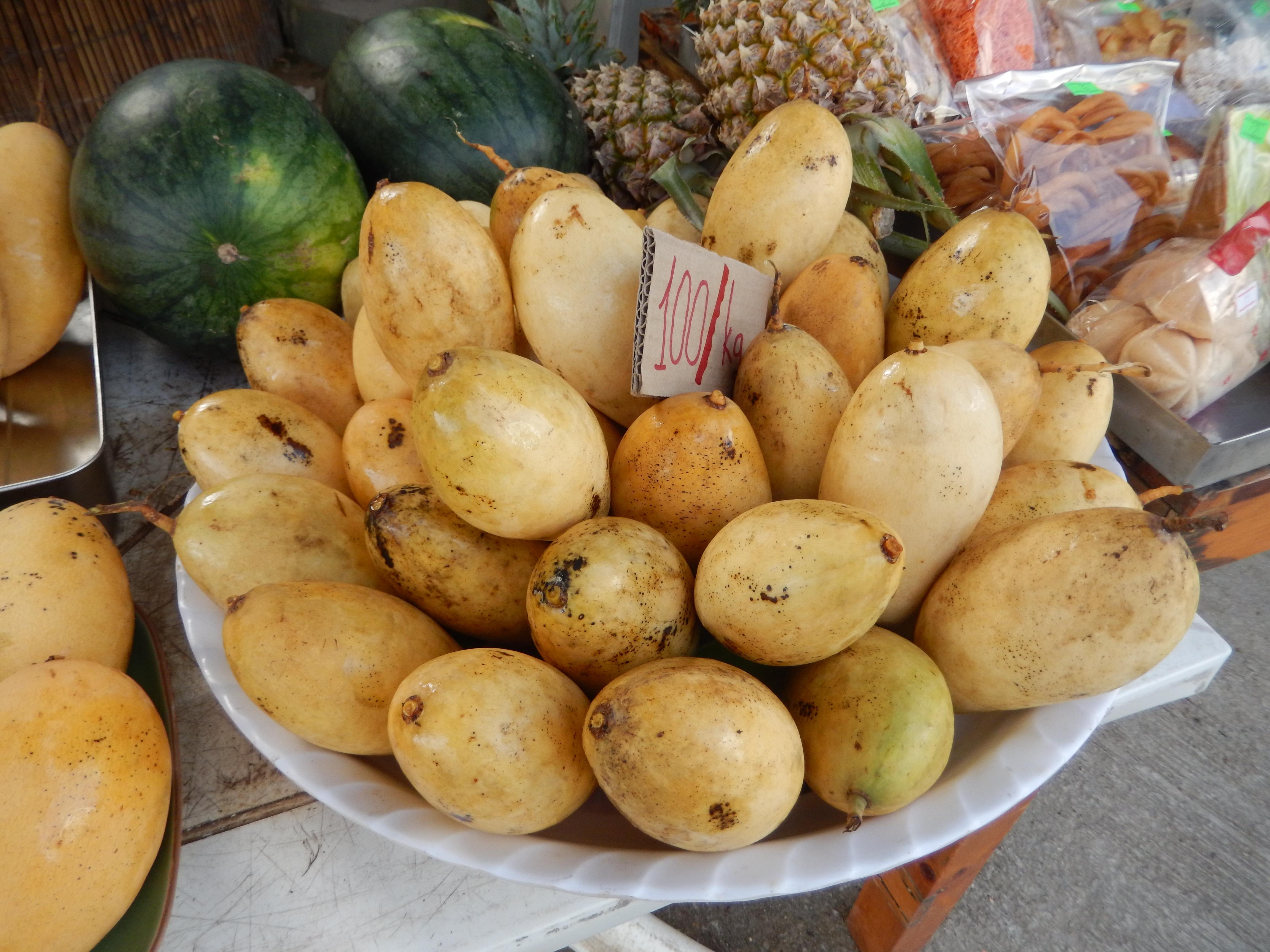 Délicieuses petites mangues