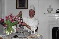 Duo caviar champagne
