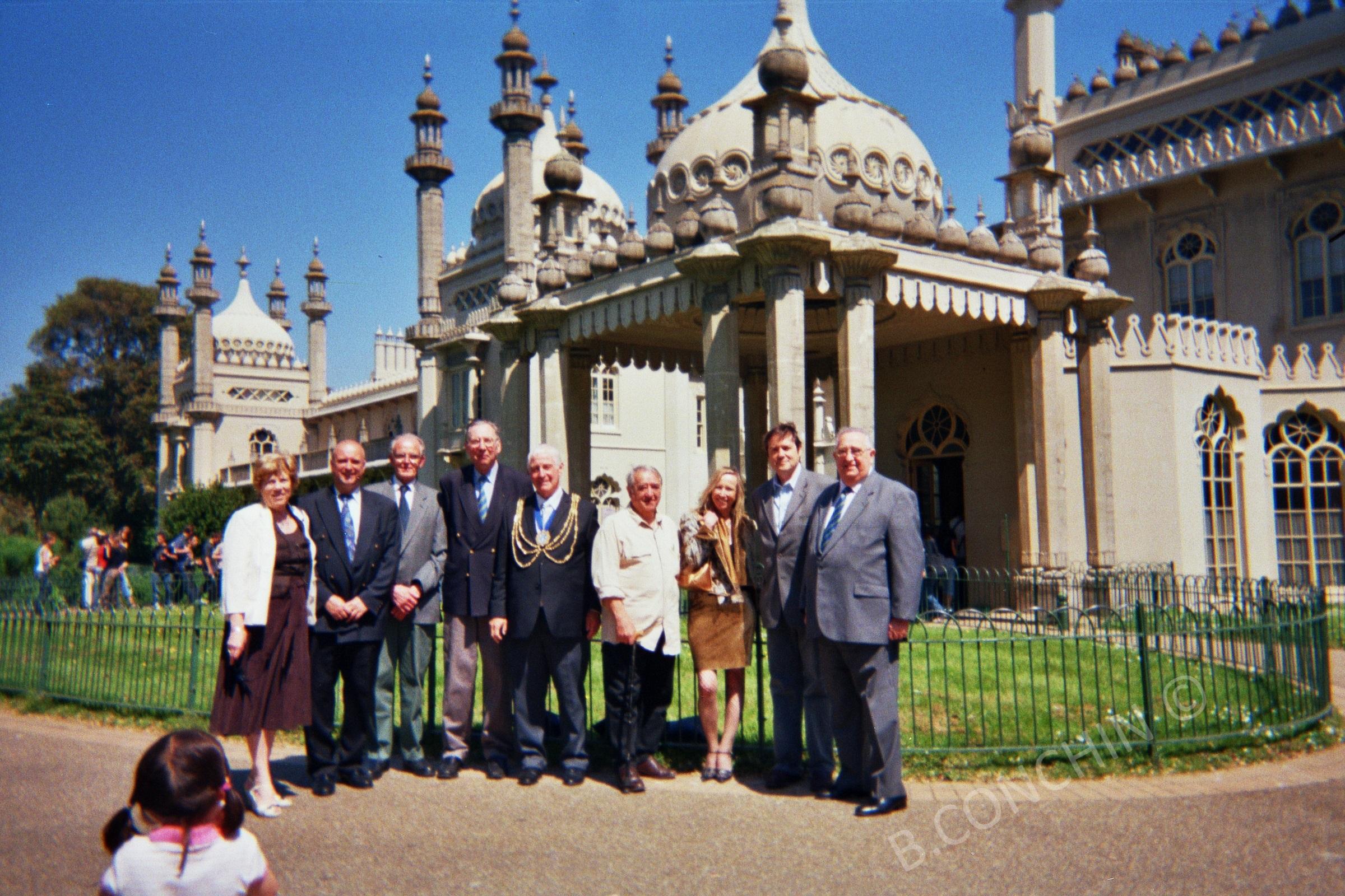 Visite de Brighton avec le Maire