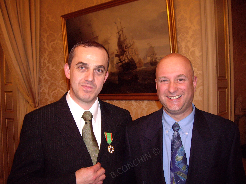 Bruno et Gilles, le chef du Sénat