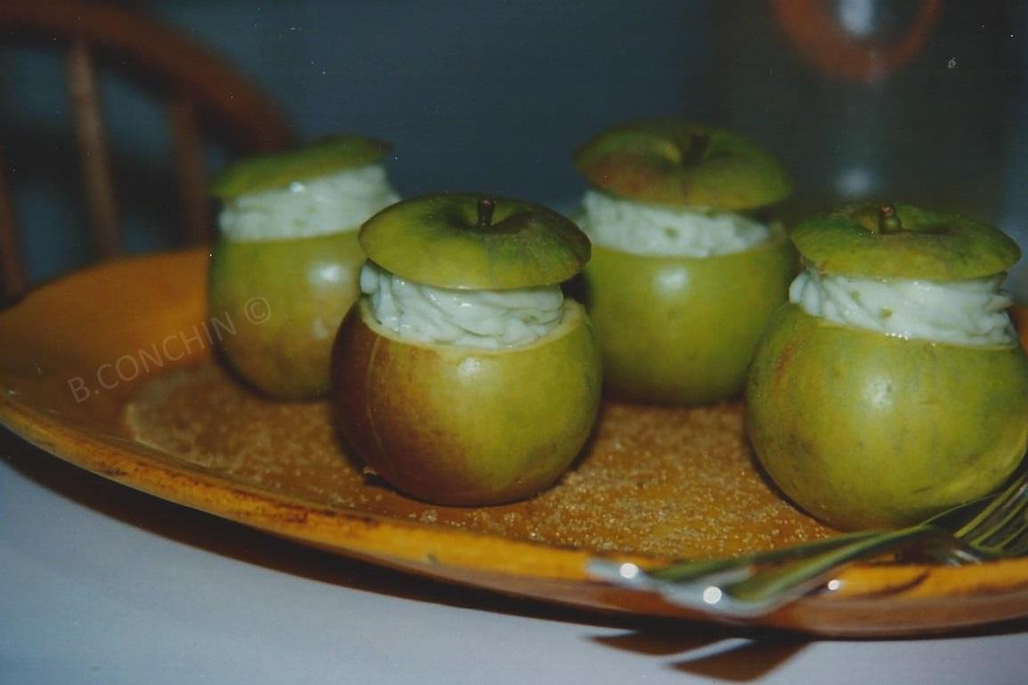 Sorbets pommes vertes