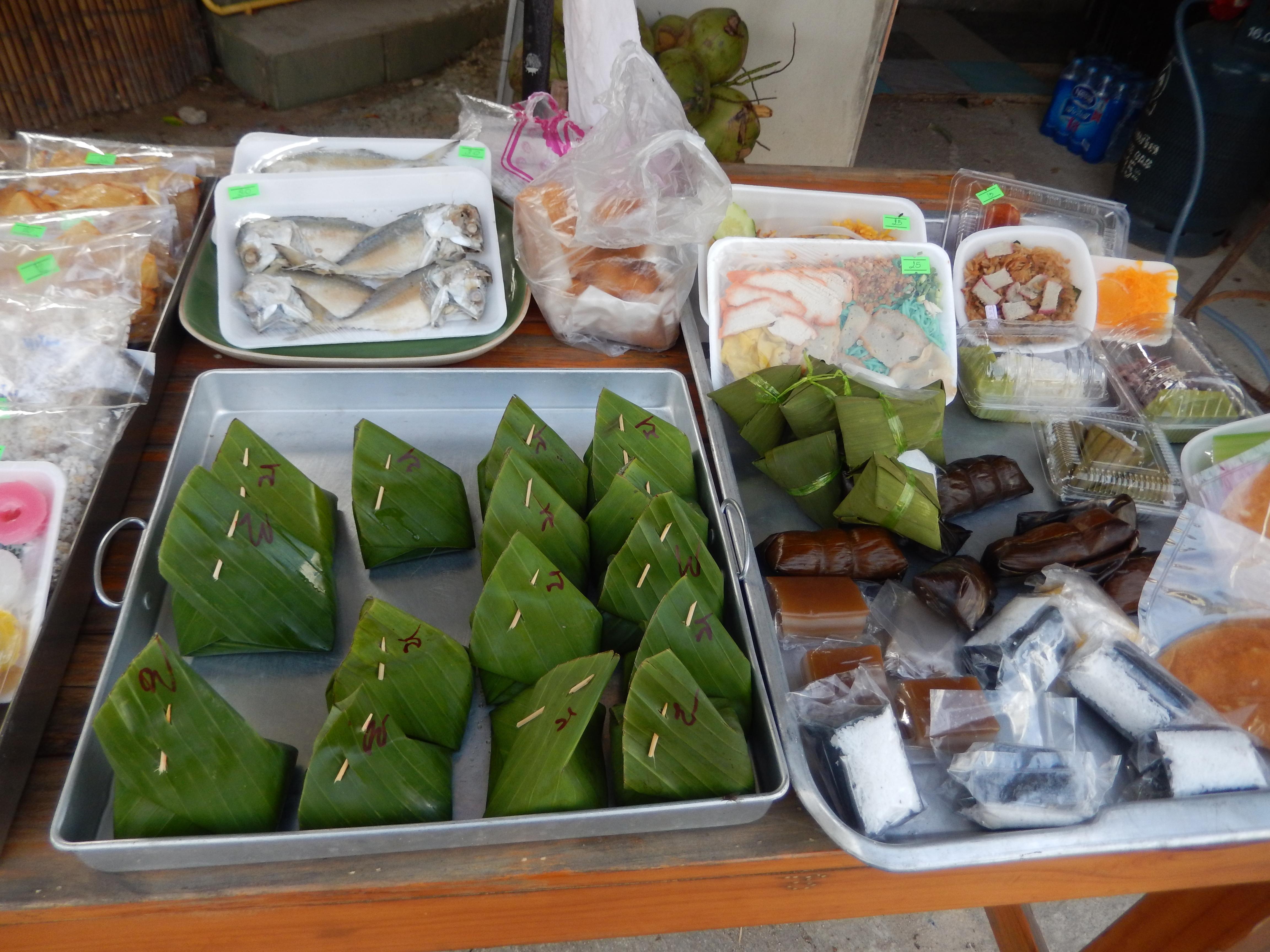 Produits locaux thaï