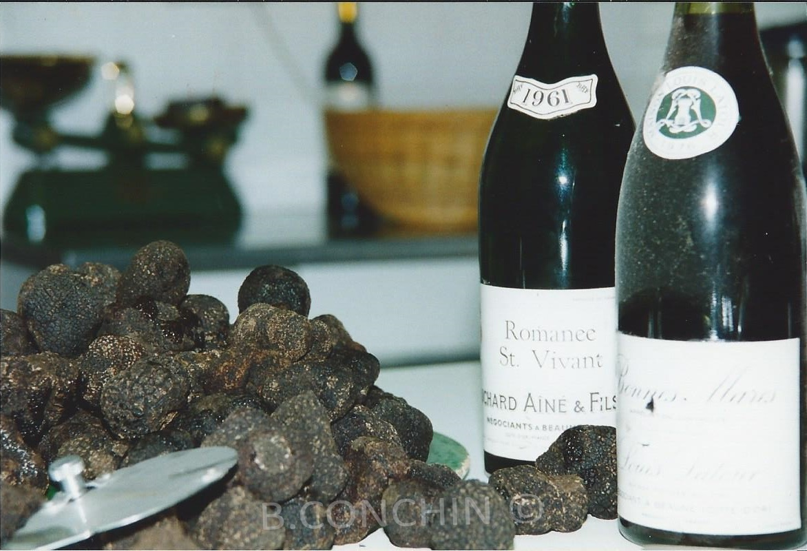 Truffes et son accompagnement