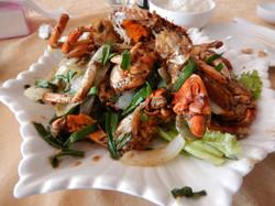 Crabe de Kep aux épices