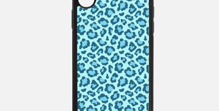 Aqua Blue Leopard