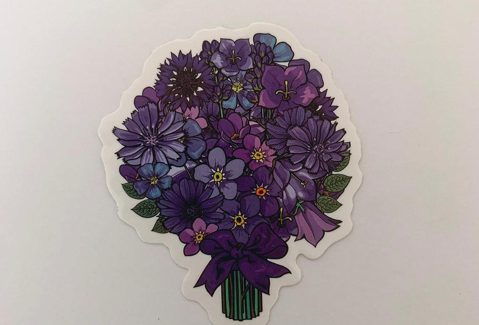Purple Boutique of Flowers