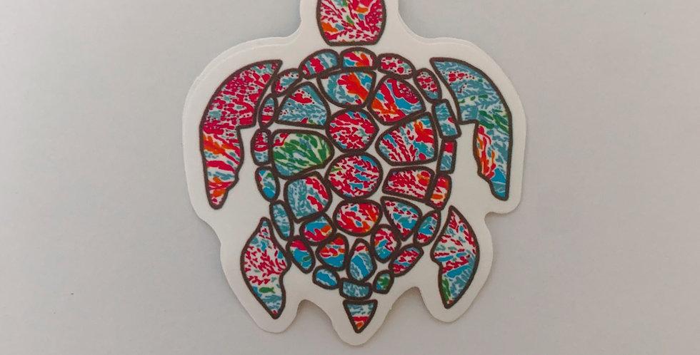 Multi Colored Turtle