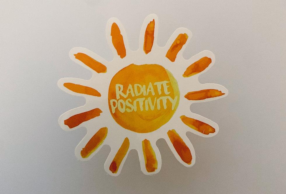Radiate Positivity Sun