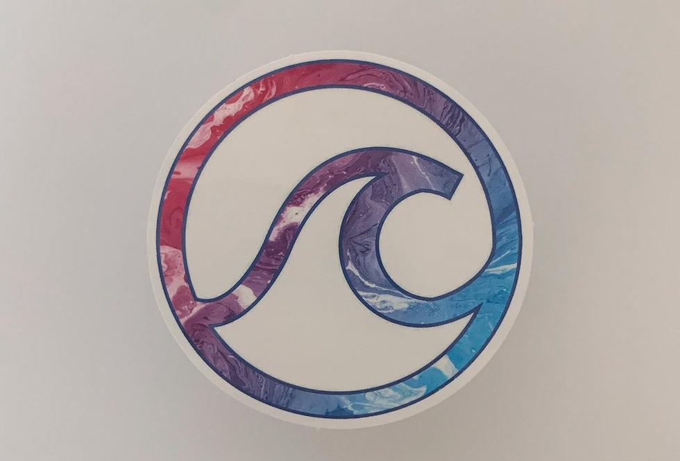 Tie-Dye Wave