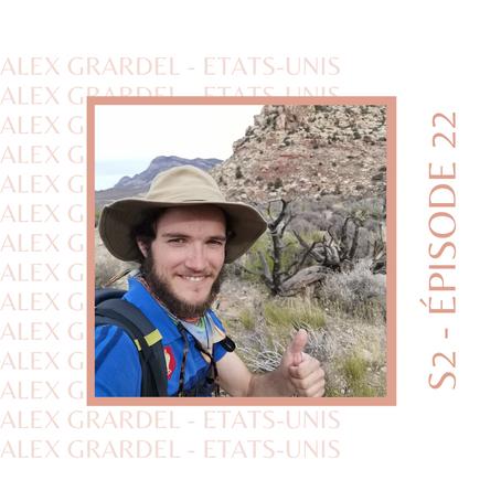 Alex Grardel : Celui qui est parti en stop à la rencontre des Américains