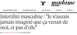 Interview dans Madame Figaro pour parler de mon podcast Alors C'est Pour Bientôt