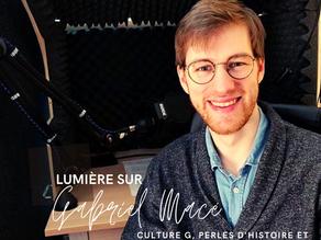 Lumière sur Culture G avec Gabriel Macé