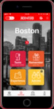 2018 11 13 - Boston Explore Home screen.