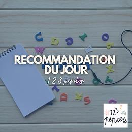 Recommandation : 1 2 3 pépites