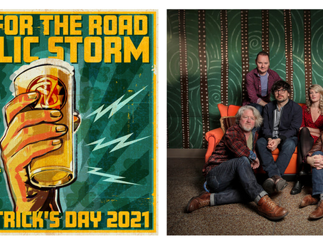 "Gaelic Storm Announces ""One For The Road"" St. Patrick's Day Livestream Concert"