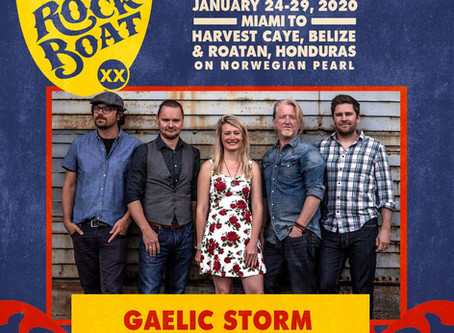 Gaelic Storm to hit the seas on the rock boat!