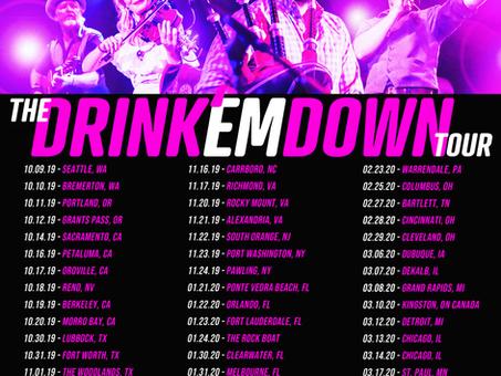 """Gaelic Storm announces 59 date """"Drink em' Down"""" tour"""