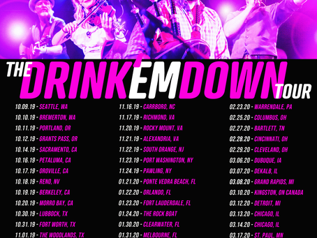 "Gaelic Storm announces 59 date ""Drink em' Down"" tour"