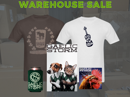 Spring Cleaning Warehouse Sale