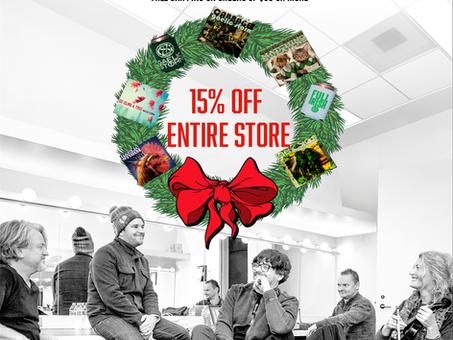 Christmas Cheer Sale Ends 12/19