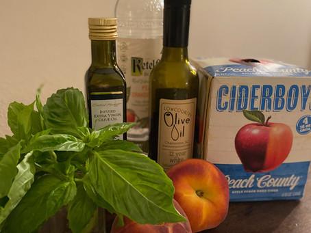 RECIPE: Ciderboys Balsamic Peach Spritz