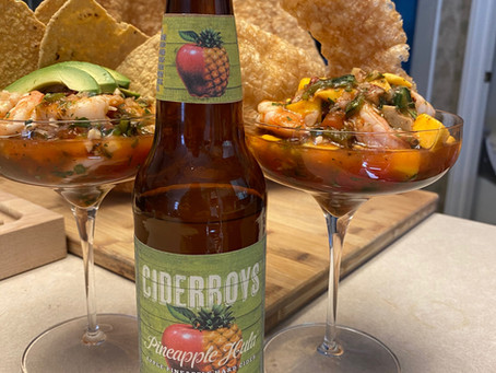"CIDERBOYS SHRIMP COCKTAIL - ""CAMPECHANA""RECIPE"