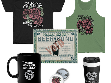 Gaelic Storm New Merch Items