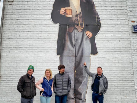 GAELIC STORM VISITS POINT BREWERY