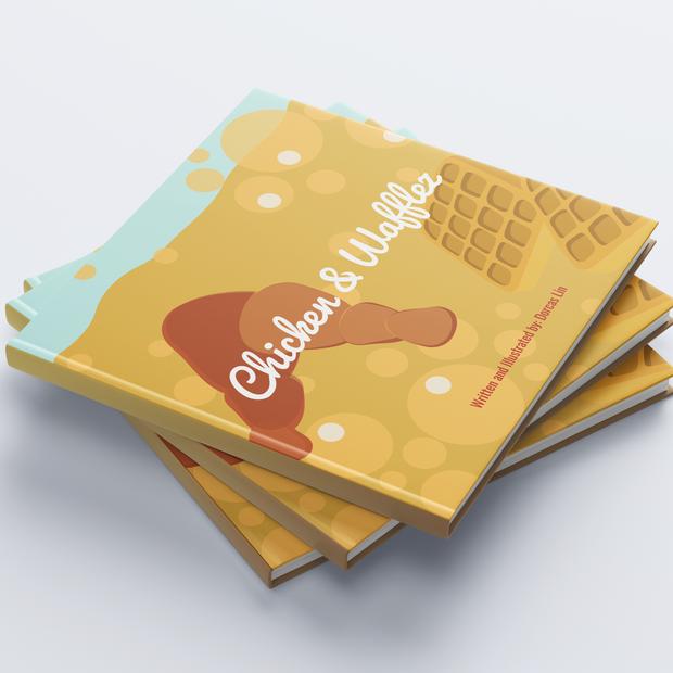 Chicken & Wafflez Children's Book