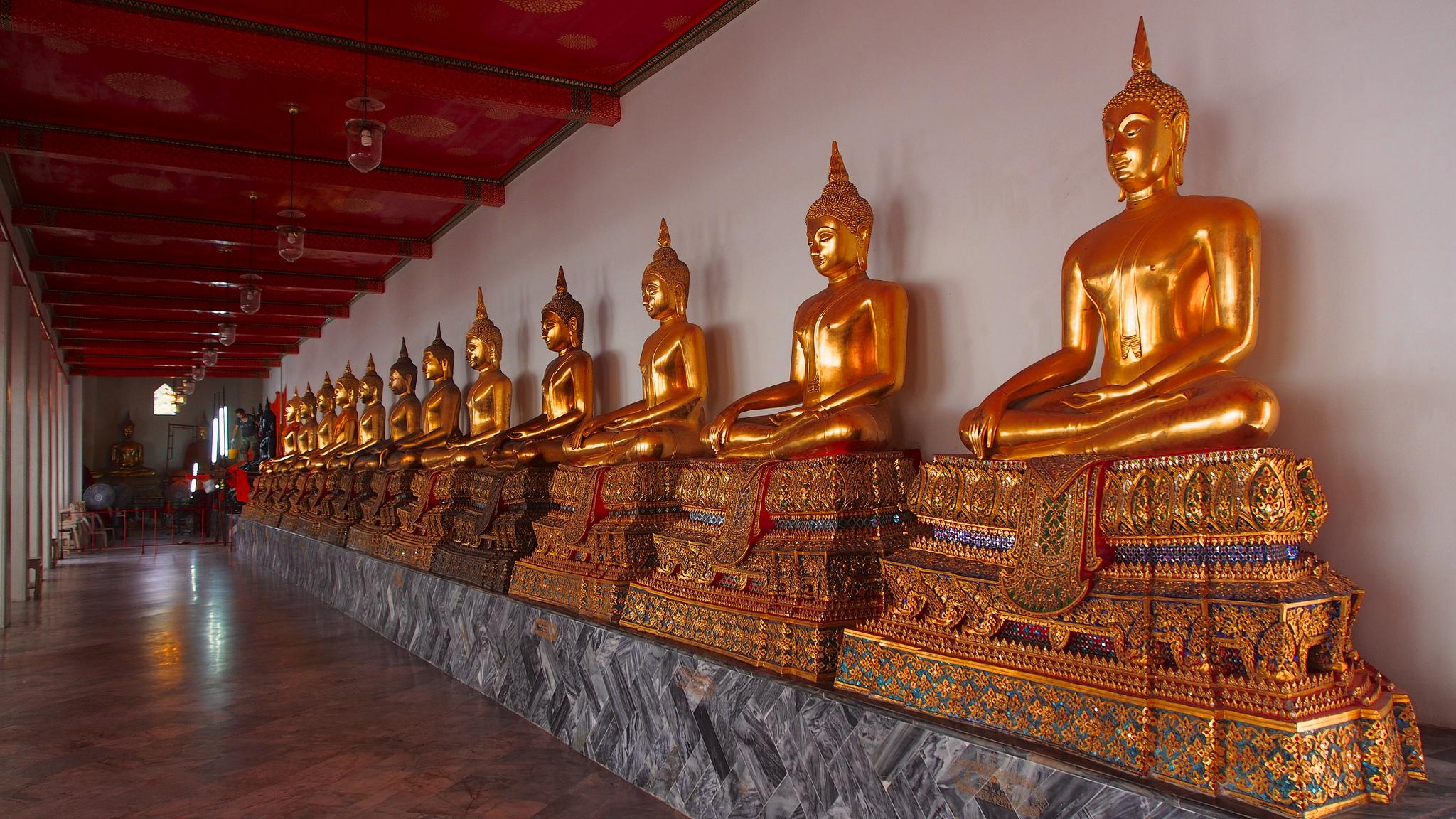 涅槃仏像(ワット・ポー)