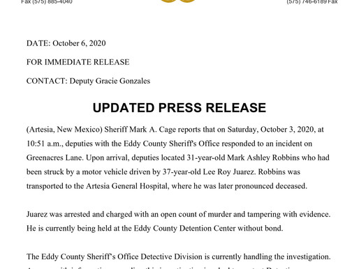 Eddy County Sheriff's Office