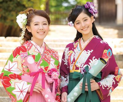 卒業袴衣裳のレンタル受付開始