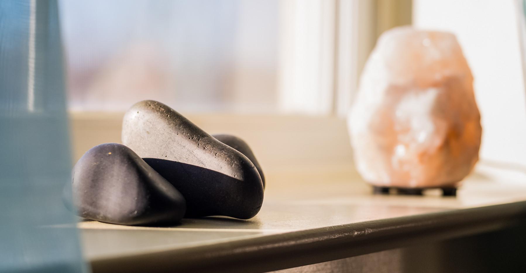 Hot Stones and Himalayan Salt
