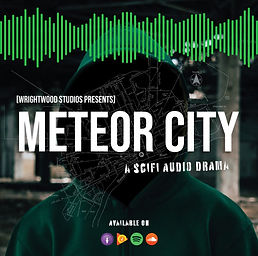 Meteor City  Sci-Fi Audio Drama  2018  ​  In 2008, a freak meteor shower hit Detroit, killing hundreds and displacing thousands. Hundreds of people were quarantined for radiation exposure for days, weeks and months. The unlawfully detained people began to revolt ending with the radiation Riots of 2009, causing further damage to Detroit... Read More  ​